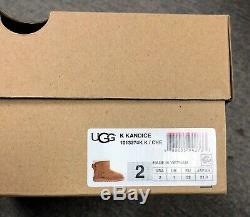New Girl's Size 2 Ugg Australia Kids Kandice Chestnut Boot