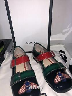 New Gucci Shoes Girls Size 32 New With Box Dust Bag RRP £345