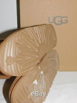 New Kids Girls Sz 4 Chestnut Ugg Classic Tall II Suede Sheepskin Boots 1017713k
