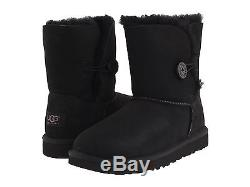 New Kids Girls Women Ugg Australia Boot Bailey Button Black 5991 K Original