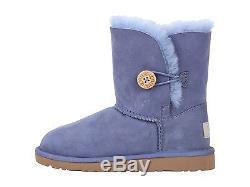 New Kids Girls Women Ugg Australia Boot Bailey Button Estate Blue 5991 K Org