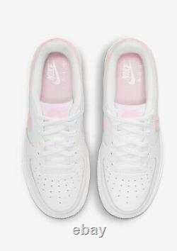 New Nike Air Force One 1 White Pink Foam Size 6 Eur 39 Older Kids Shoe