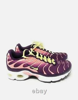 New Nike Air Max Plus GS Running Shoes Size 6.5Y Women's 8 Style AV7962 600
