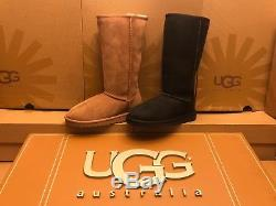 New UGG Australia Classic Tall Sheepskin Suede Winter Boot 5229 Girls Youth Kids