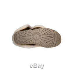Nib-ugg Girls Kids Bailey Button Triplet Boots Chestnut Size 4