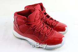 Nike 378038-623 Girls/Kids Air Jordan 11 Retro Win Like 96 Gym Red Shoes Sz 6.5Y