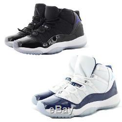 Nike 378038 Kids Youth Boys Girls Air Jordan 11 Retro Space Jam Shoes Sneakers