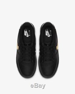Nike Air Force 1 LV8 3 Black Black White Kids Boys Girls Trainers All Sizes
