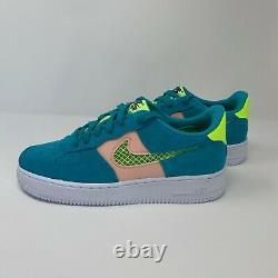 Nike Air Force 1 LV8 (GS) (CJ4093-300) Oracle Aqua Basketball Shoes Size 7Y