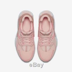 Nike Air Huarache Run SE Storm Pink White Rust 904538 604 Girls Womens Kids