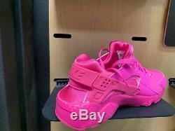 Nike Air Huarache Triple Pink Laser Fuchsia GS TD Sz 5C-7Y Kids Girls Women NEW