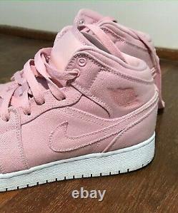 Nike Air Jordan 1 Pink Mid Easter Pack for Girls/Women rare high-top shoes