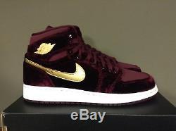 565f953aead3 Nike Air Jordan 1 Retro Hi Prem Hc Gg Heiress Pack Velvet Girls Kids  832596-640