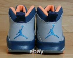 Nike Air Jordan 10 Retro GS Size 5 Youth 5Y Bobcats Boys Girls Shoe 310806-026