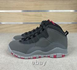 Nike Air Jordan 10 Size 6Y / Womens 7.5 Retro Smoke Grey Shoes 487211-006 New