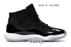 Nike Air Jordan 11 Retro Black White 378038003 Kids Boys Girls Trainers (PTI)