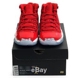 Nike Air Jordan 11 XI Retro BG Win Like'96 Gym Red/Black-White 378038-623 AJ11