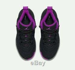 Nike Air Jordan 12 XII Retro Hyper Violet Kids Shoes Dead Stock Girls Size 3Y