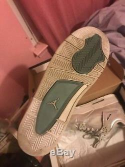 Nike Air Jordan 4 IV Retro Gs Gg Bg Kid Size Girls Pearl 4-9 742639-045 All Star