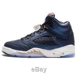 Nike Air Jordan 5 Retro BG V Bronze Tongue Olympics Kids Girls AJ5 440888-416