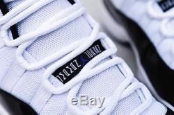 Nike Air Jordan Retro 11 Concord White Black Concord Kids Boys Girls Trainers