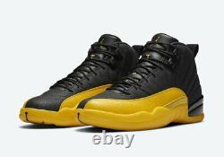 Nike Air Jordan Retro 12 University Gold Boys Girls Shoes Size 3Y