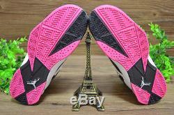 Nike Air Jordan True Flight GS Pink White Black 342774 122 Girl Kids Sz 7Y Shoes