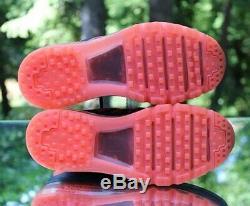 Nike Air Max 2015 Womens Size 7 Obsidian Hyper Orange 698903-408 Running Shoes