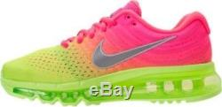 Nike Air Max 2017 (GS) Girls Size 5.5 Y Youth Kids Shoes Sneakers 851623 601 NEW
