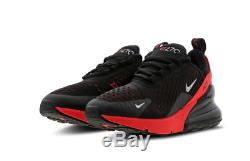 Nike Air Max 270 Black Reflect Silver Kids Boys Girls Trainers All Sizes