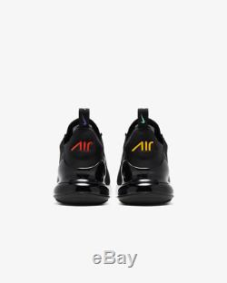 Nike Air Max 270 Game Change Black University Gold For Kids Boys Girls Trainers