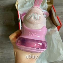 Nike Air Max 270 Gs Pink Shoes Trainers Size Uk3.5 Us4y Eur36 Cv9645-600