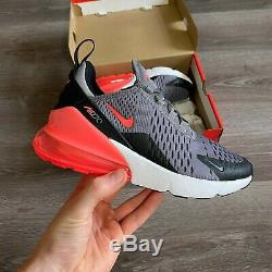 Nike Air Max 270 Gs Trainers Shoes Size Uk3.5 Us4y Eur36 Ct6018-001