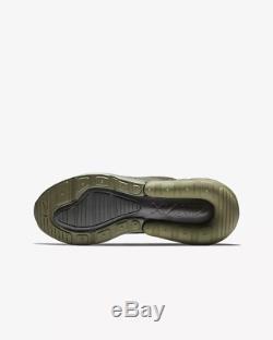 Nike Air Max 270 Medium Olive Newsprint Kids Boys Girls Trainers All Sizes
