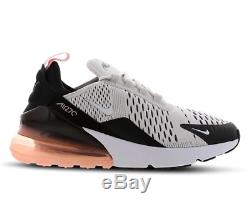 Nike Air Max 270 Platinum Tint Coral Kids Boys Girls Trainers All Sizes