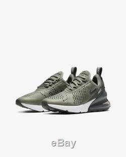 Nike Air Max 270 Vintage Lichen Mineral Spruce White Kids Boys Girl Trainers