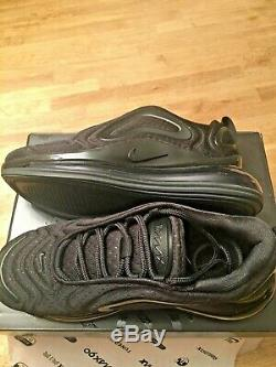 Nike Air Max 720 Black Anthracite Black Kids Boys Girls Trainers Size UK 2