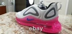 Nike Air Max 720 GS Kids Pure Platinum Pink Shoes AQ3196-008 sz 7y wmns sz 8.5