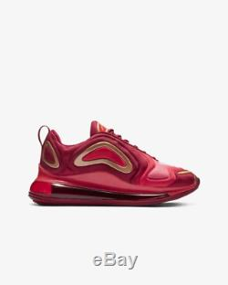 Nike Air Max 720 Team Crimson Red Metallic Red Bronze Kids Boys Girls Trainers
