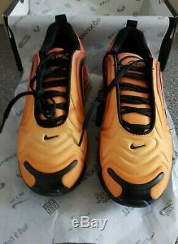 Nike Air Max 720 Team Orange Black University Gold Kids Boys Girls Trainers