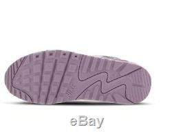 Nike Air Max 90 Grey Pink Dust Kids Boys Girls Trainers All Sizes
