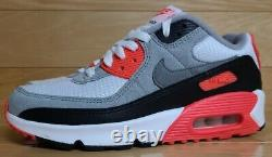 Nike Air Max 90 Infrared Size 5 Youth 5Y GS Boys Girls Kids Shoe DC8334-100