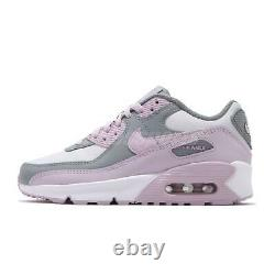 Nike Air Max 90 LTR GS Grey Pink Womens Kids Girls Lifestyle Shoes CD6864-002