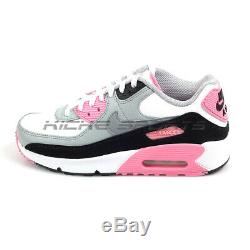 Nike Air Max 90 LTR (GS) White/Particle Grey Classic Running Shoes CD6864-104