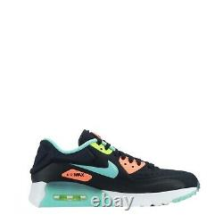 Nike Air Max 90 Ultra SE Junior Youth Trainers Shoes Black/Turquoise UK 5