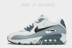 Nike Air Max 90 White Black Kids Boys Girls Trainers All Sizes Limited Stock