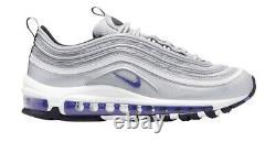 Nike Air Max 97 Gs 3m Reflective Silver Purple 313054-051 Running Shoe 1