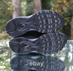 Nike Air Max 97 OG Triple Black Womens Size 7 Running Shoes 921733-001