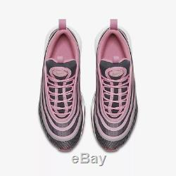 Nike Air Max 97 Ultra'17 Elemental Pink Gridiron White Kids Boy Girls Trainers