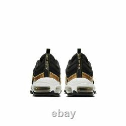 Nike Air Max 97 (gs) Running Shoes Trainers Black/gold Uk 6 39/40 921522 014